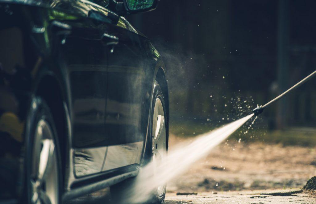 Detailed Car Washing